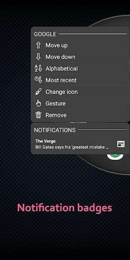 Wheel Launcher a free customizable sidebar screenshots 4
