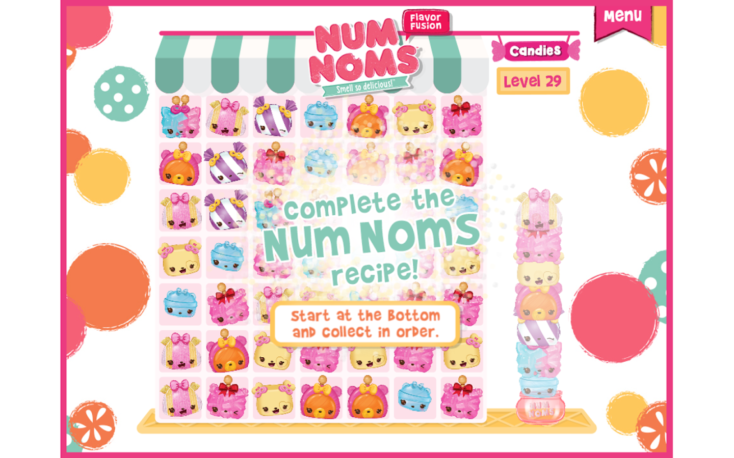 Coloring pages num noms