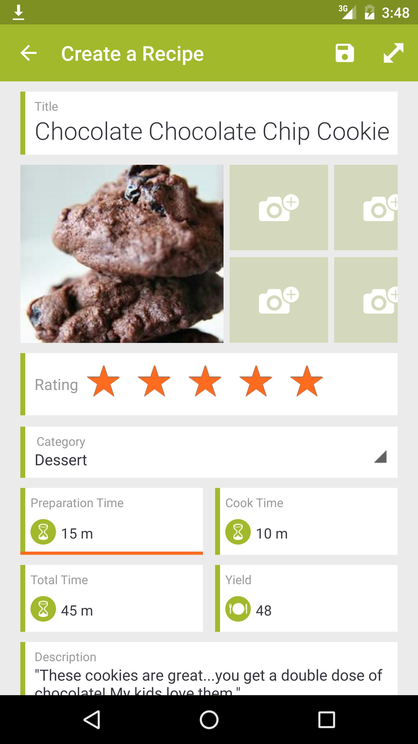 My CookBook Pro (Ad Free) screenshot #4