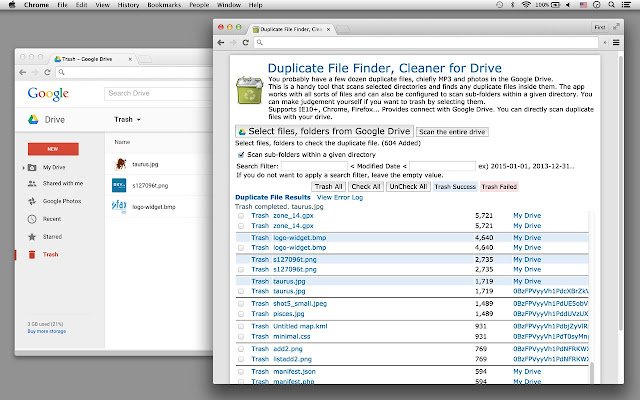 Duplicate File Finder Cleaner For Drive