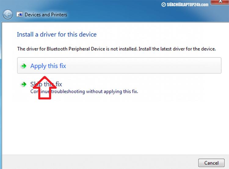 Xử lý lỗi Bluetooth không sử dụng được