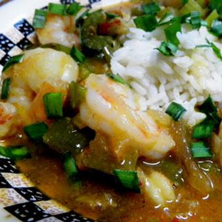 Creole Shrimp and Crawfish Etouffee