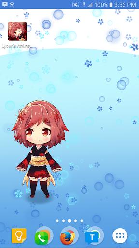 Lycoris Anime Live Wallpaper Screenshot