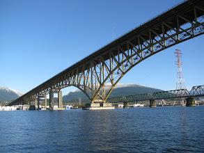 Photo: Second Narrows Bridge
