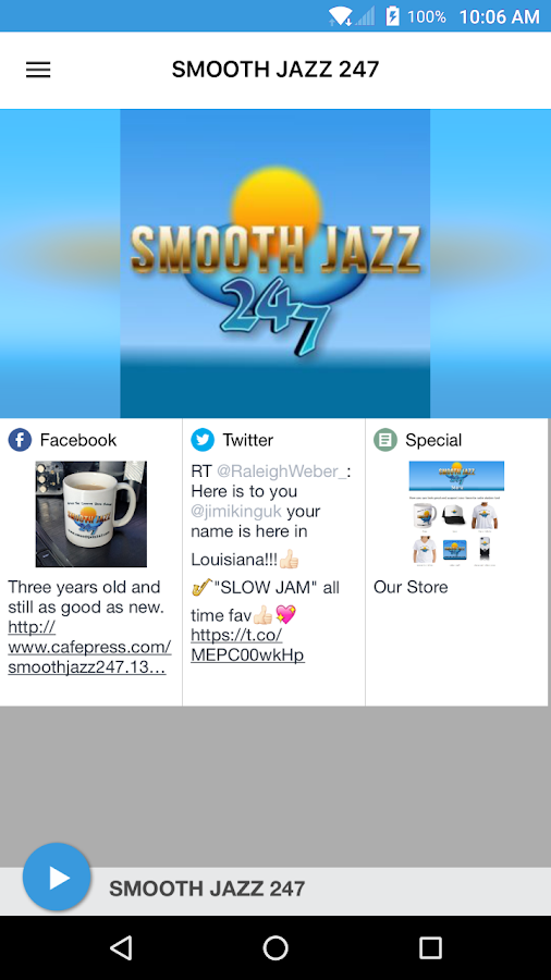 SMOOTH JAZZ 247- screenshot