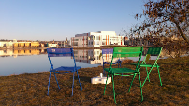 Photo: IKEA advertising chairs for the garden.