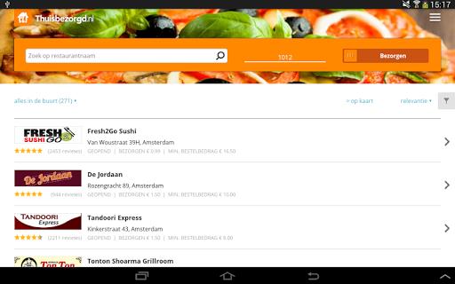 Thuisbezorgd.nl - Order food screenshot 04