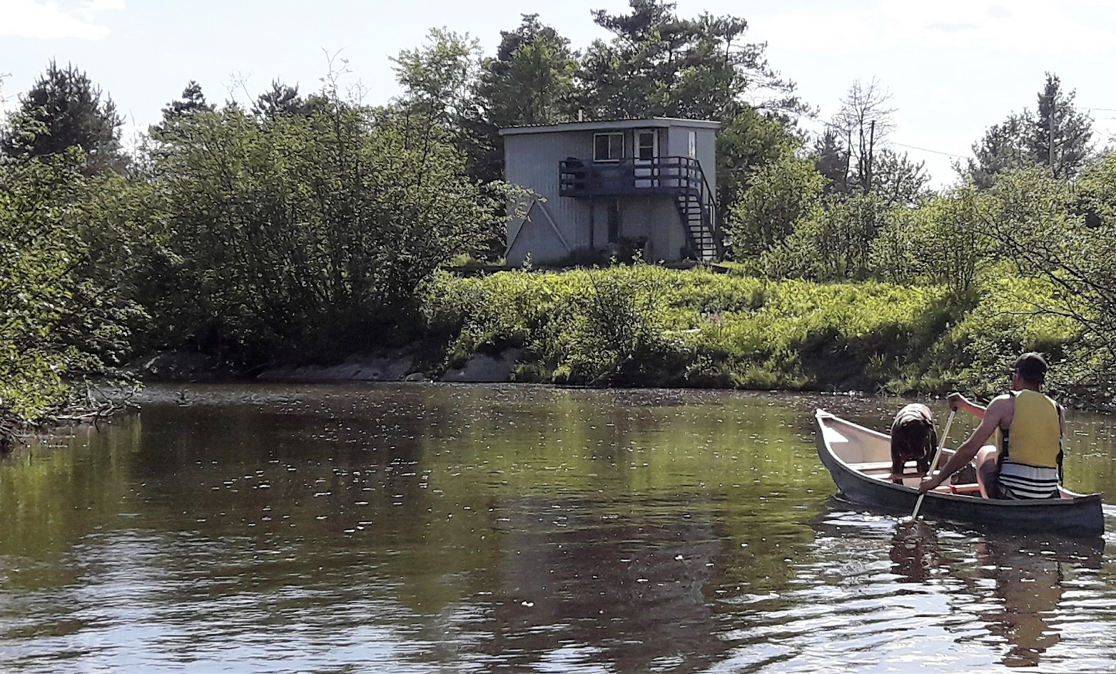 Waterfont cottages for rent in Eastern Townships #15