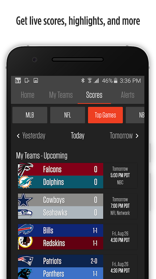 Bleacher Report: Team Stream- screenshot