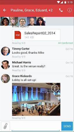 Lua  HIPAA Compliant Messaging 3.12.1.1-release screenshot 2090822
