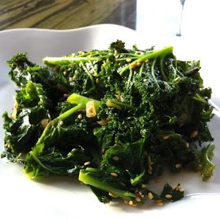 Braised Kale.