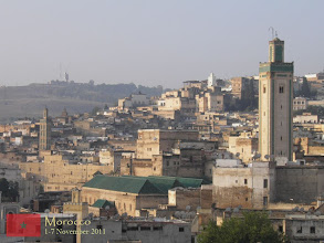 Photo: the oldest and walled part of Fes also known as Fes el Bali