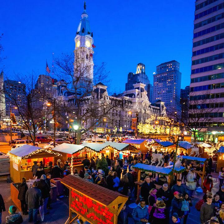 Bildergebnis für christmas market philadelphia