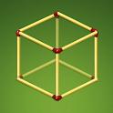 Stick Math Challenge – Matchsticks Logic Puzzle icon
