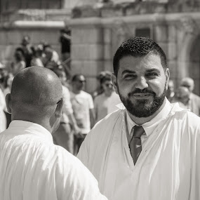 Before the Parade by J Licht - People Street & Candids ( malta, street, candid, people )