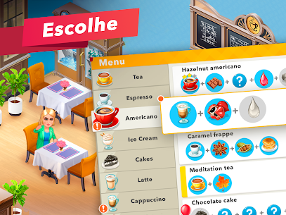 My Cafe Recipes & Stories Apk Mod Dinheiro Infinito 9