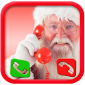 A call from santa claus prank icon