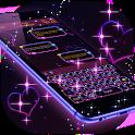 Dark Purple Keyboard icon