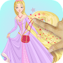 Dress Up Princess Rapunzel - Beauty Salon Games APK icon