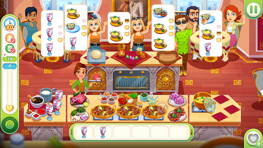 Delicious World - Romantic Cooking Game apkmr screenshots 2