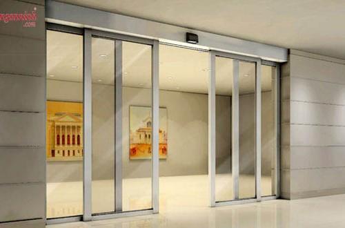 Cửa tự động mang thiết kế hiện đại