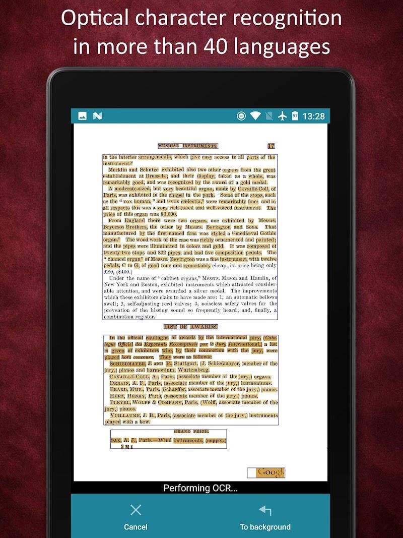 Smart Doc Scanner: Free PDF Scanner App Screenshot 19