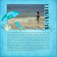 Photo: Template - This Year PhotoBook by TForMe Paper and elements - At the beach by Mo & Mo Studio Fonts Lucida Handwriting and Bauhaus 93 PS CS2