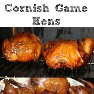 Smoked Cornish Game Hens.