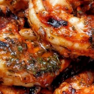 Marinated Grilled Shrimp.