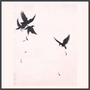 群れ飛ぶ鴉