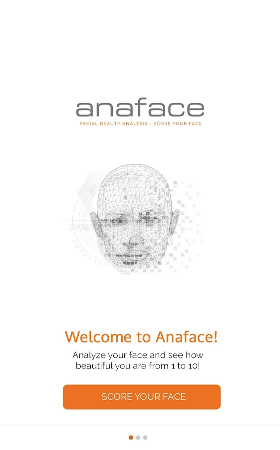 Anaface - Beauty Calculator- screenshot