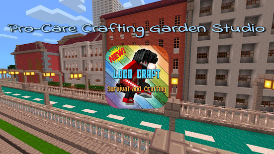 Loco Craft Survival and Crafting Screenshot