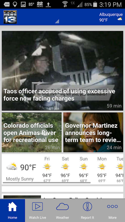 KRQE News 13- screenshot