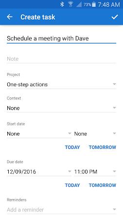 Chaos Control: Task List & GTD 1.7.1 screenshot 562439