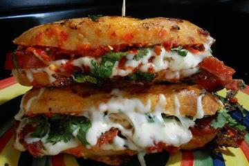 Tomato And Cilantro Grilled Cheese Sandwich Recipe