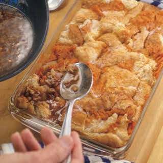 Sweet Potato Bread Pudding.