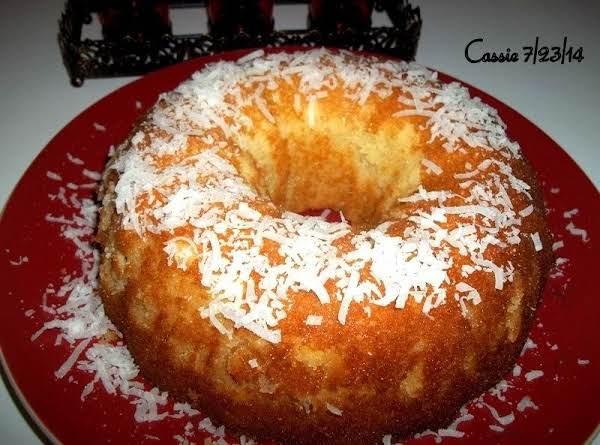 Coconut Bundt Cake - Moist & Delish!