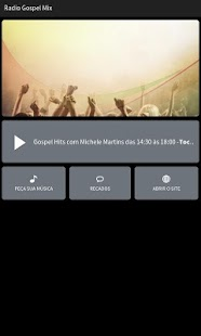 Rádio Gospel Mix- screenshot thumbnail