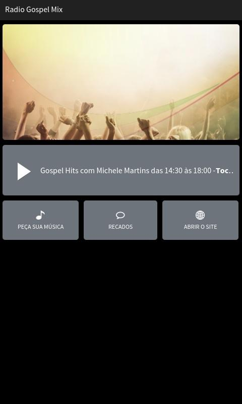 Rádio Gospel Mix- screenshot
