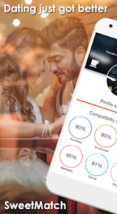 SweetMatch- Free Dating, Flirting, Chat App Screenshot