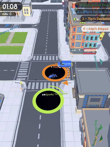 Hole.io - screenshot