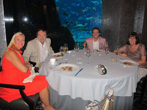 Photo: At the Ossiano restaurant in Atlantis