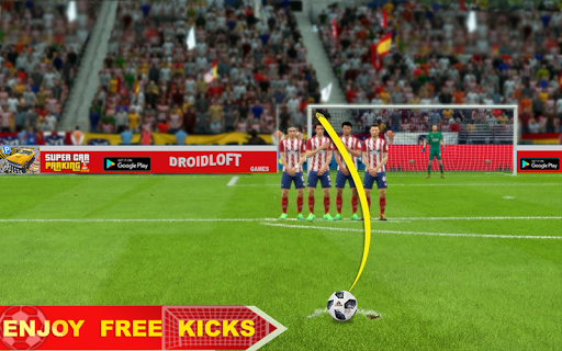 Soccer Football Flick Worldcup Champion League 1.0 screenshots 2
