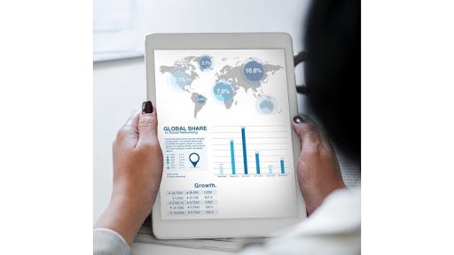 Analytics business chart.