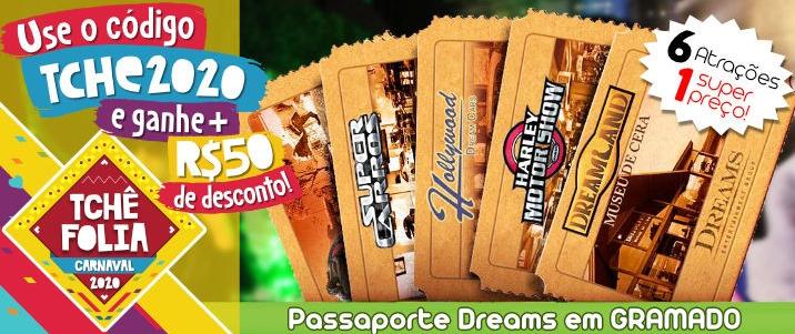Oferta Passaporte Dreams em Gramado
