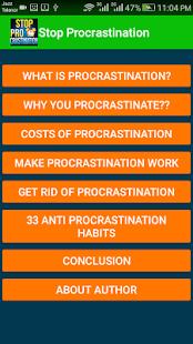 Stop Procrastination - náhled