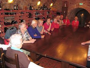 Photo: Rast im Keller des Schlossrestaurants