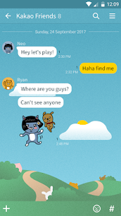 Hide and Seek-KakaoTalk Theme - náhled