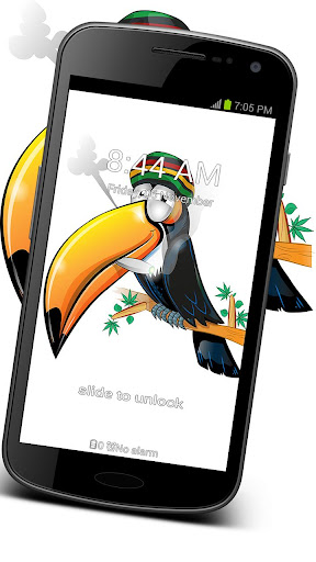 GO Locker Weed Toucan Theme