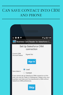 Free Business Card Reader for Salesforce CRM- screenshot thumbnail
